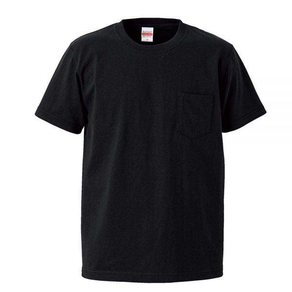United Athle 4253-01 7.1oz Adult Heavyweight Cotton Pocket T-shirt