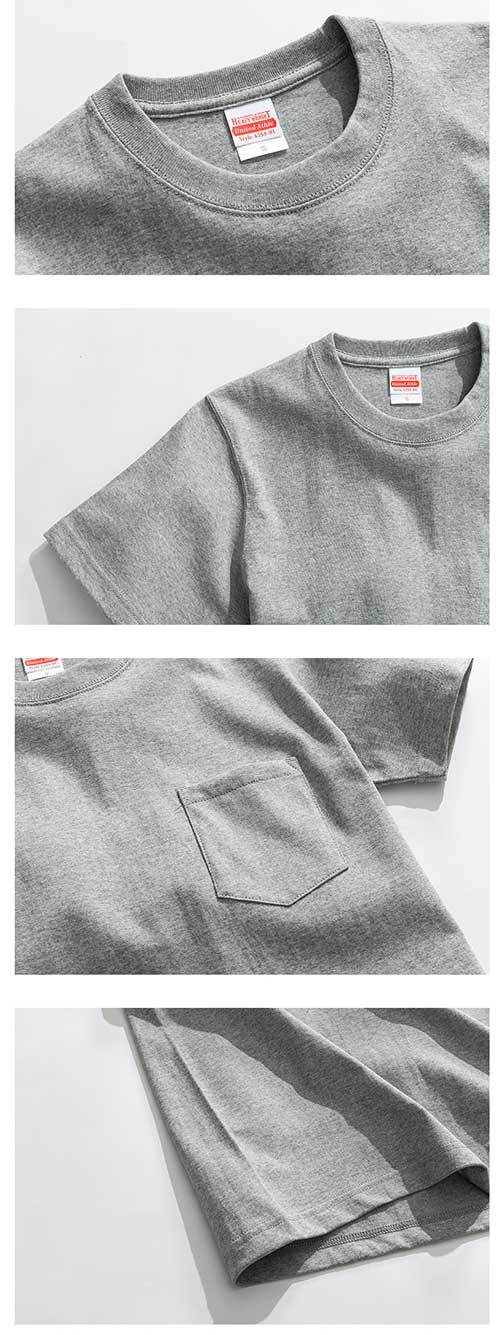 4253-01 adult heavyweight cotton pocket t-shirt